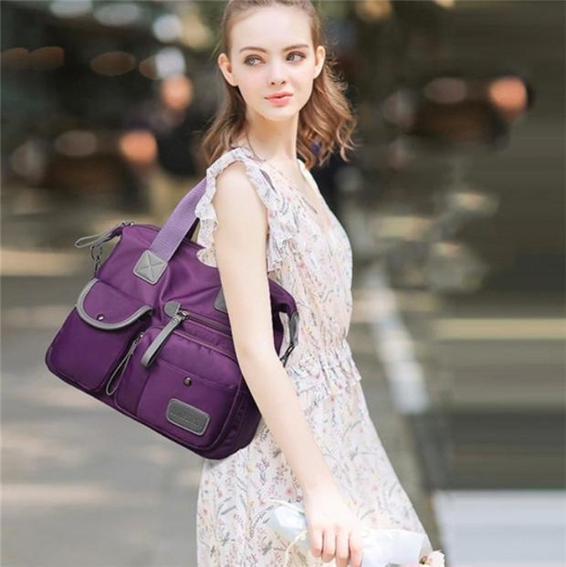 9e1887ea83c9 Oxford Cloth Shoulder Bags Waterproof Large Capacity Crossbody Bags ...