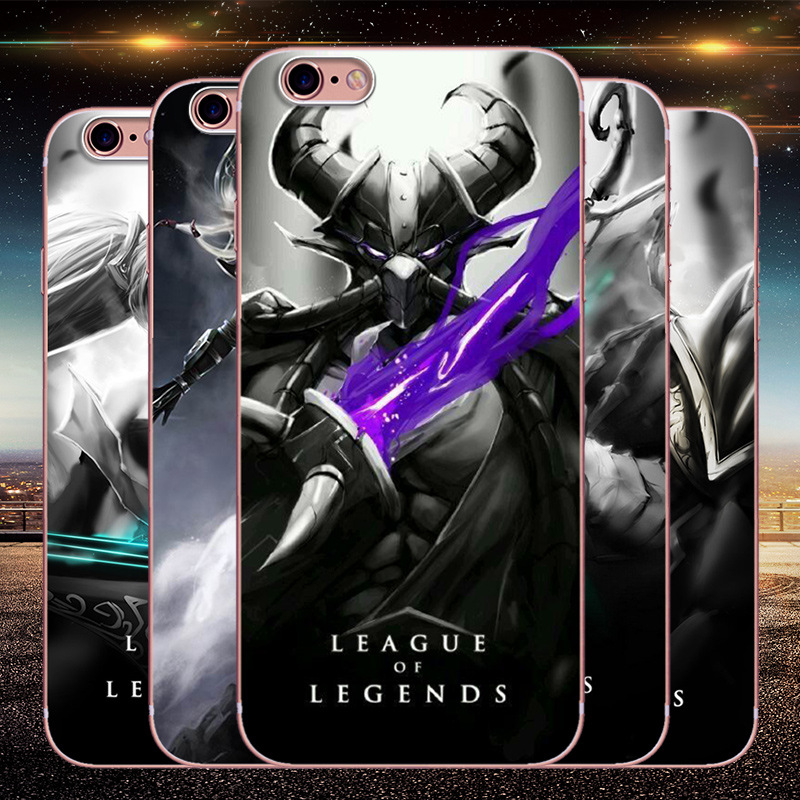 League of Legends game hero silicone phone case for iPhone6